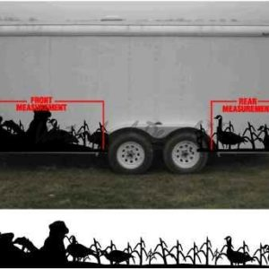 Goose Trailer Decal